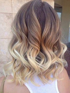 Омбре на русые волосы: 33 фото на короткие, средние и длинные волосы, как сделать в домашних условиях, цветное омбре на русые волосы